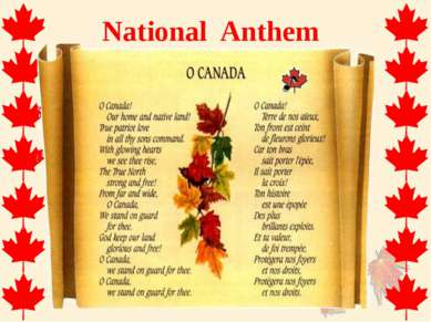 National Anthem
