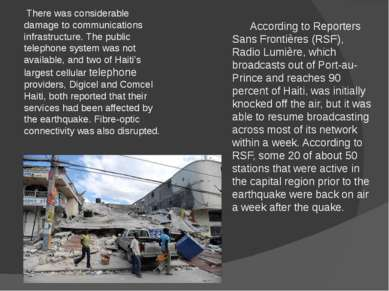 According to Reporters Sans Frontières (RSF), Radio Lumière, which broadcasts...