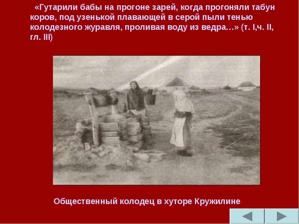«Гутарили бабы на прогоне зарей, когда прогоняли табун коров, под узенькой пл...