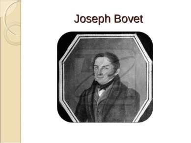 Joseph Bovet