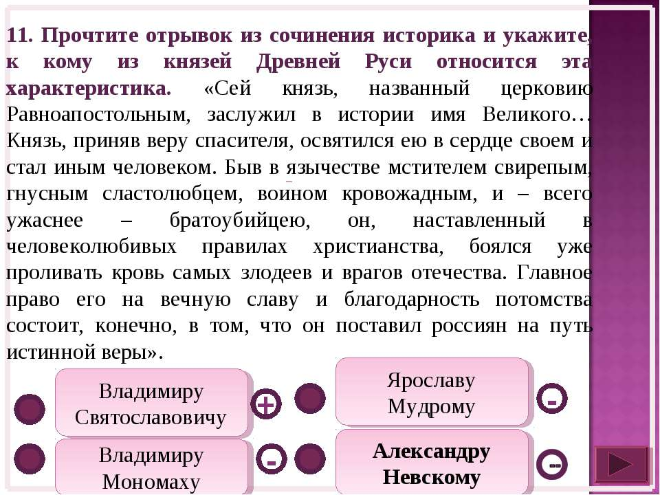 Ярославу Мудрому Владимиру Святославовичу Владимиру Мономаху - + - Александру...