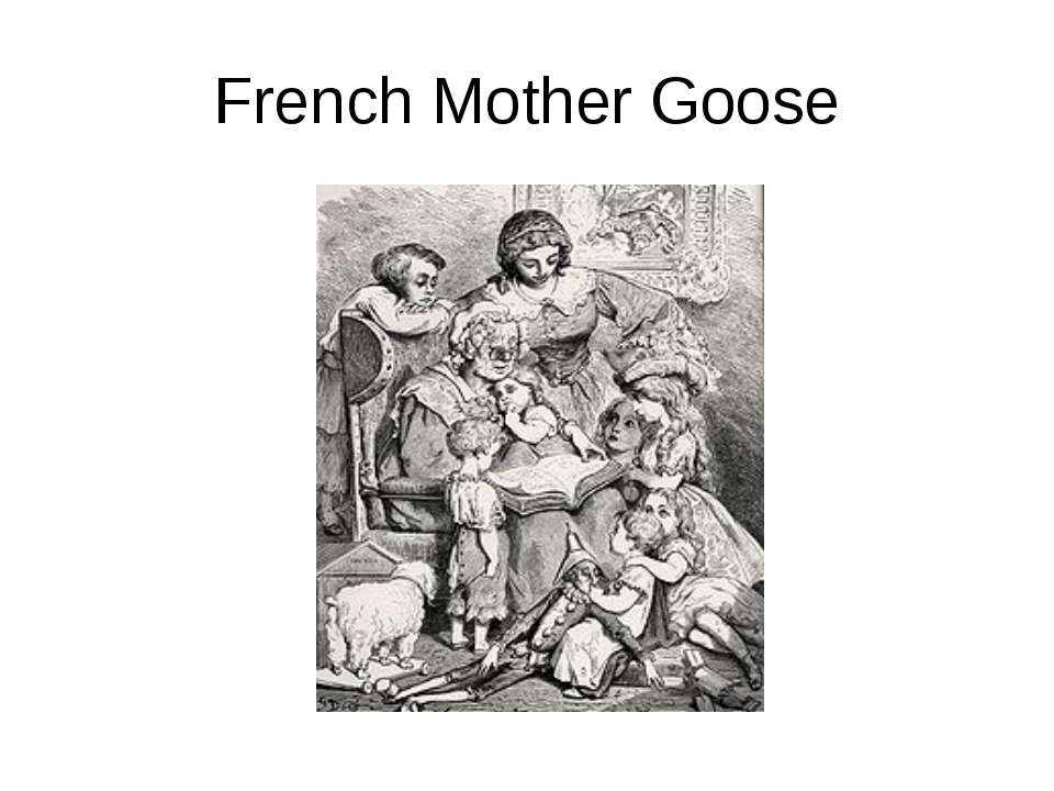 French Mother Goose