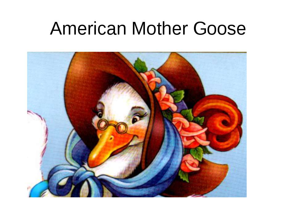 American Mother Goose