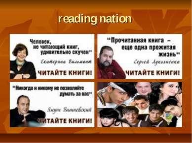 reading nation