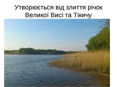 Утворюється від злиття річок Великої Висі та Тікичу