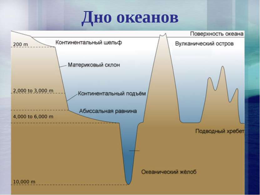 Дно океанов