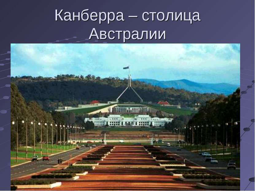 Канберра – столица Австралии