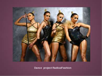 Dance project RadicalFashion