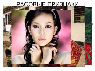 * РАСОВЫЕ ПРИЗНАКИ Отложение жировой клетчатки на лице у детей монголоидов мо...