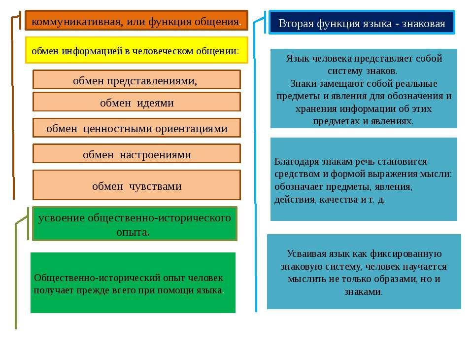 коммуникативная, или функция общения. обмен информацией в человеческом общени...