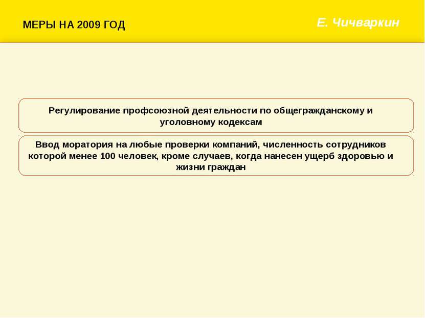 Е. Чичваркин Регулирование профсоюзной деятельности по общегражданскому и уго...