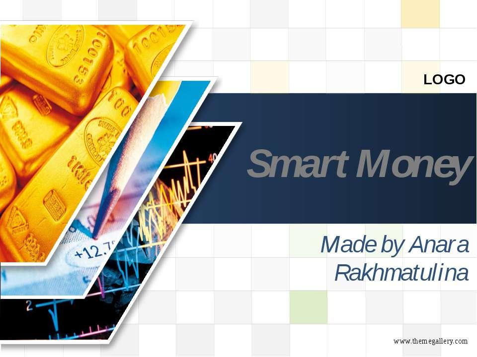 Smart Money Made by Anara Rakhmatulina LOGO