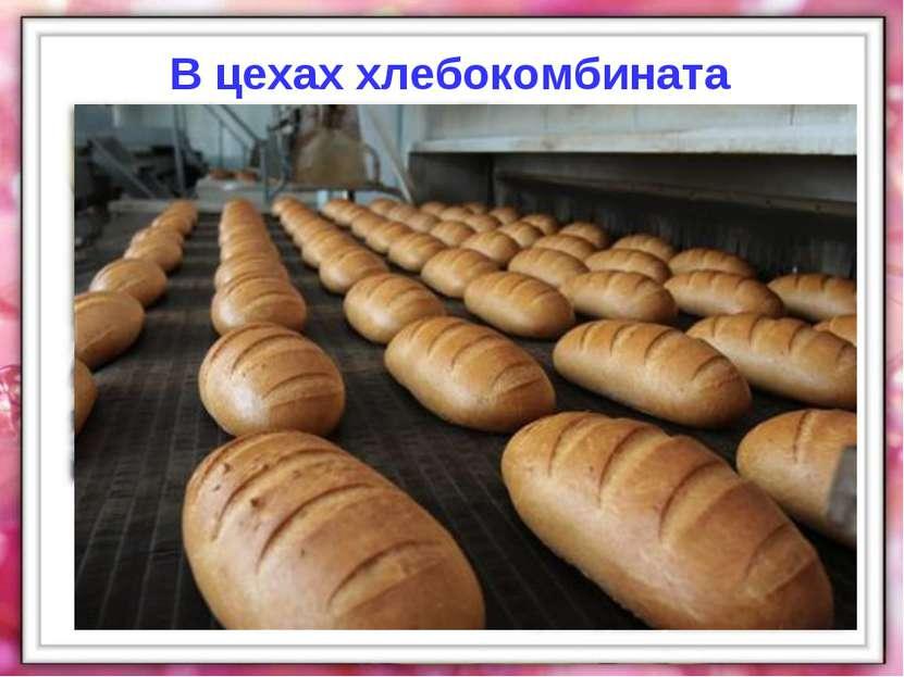 В цехах хлебокомбината