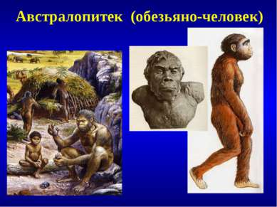 Австралопитек (обезьяно-человек)