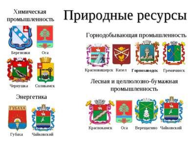 Природные ресурсы Верещагино Горнодобывающая промышленность Горнозаводск Грем...