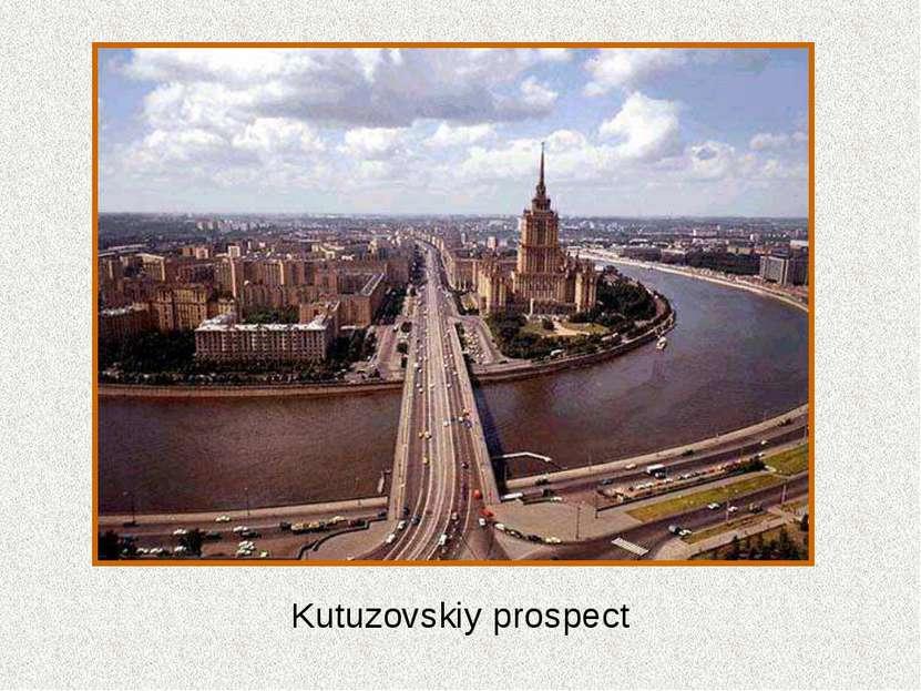 Kutuzovskiy prospect