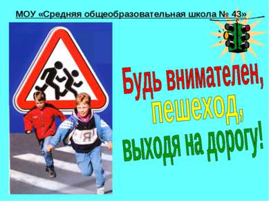 МОУ «Средняя общеобразовательная школа № 43»