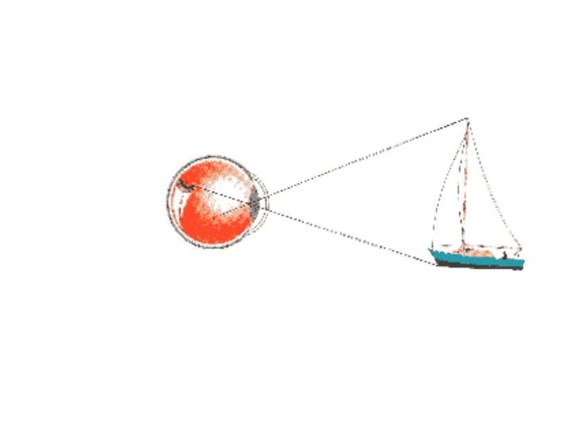 Таким образом, глаз – это система линз, с относительным показателем преломлен...