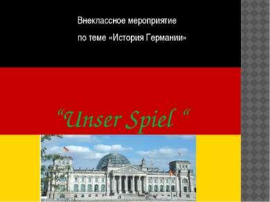 In welcher Stadt befand sich die Regierung Deutschlads nach der Vereinigung i...