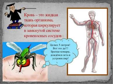 Кровь – это жидкая ткань организма, которая циркулирует в замкнутой системе к...