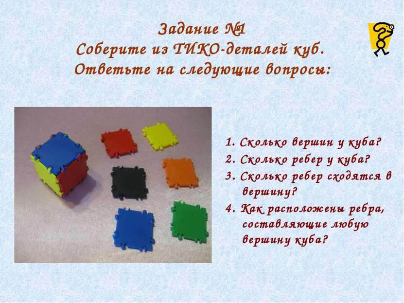 Задание №3 Найдите правильные развертки куба.