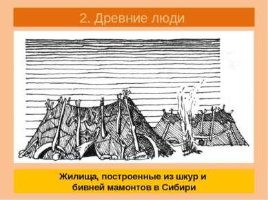 2. Древние люди «Мамонты на Русской равнине в Сибири» Стр. 11 Какую роль игра...