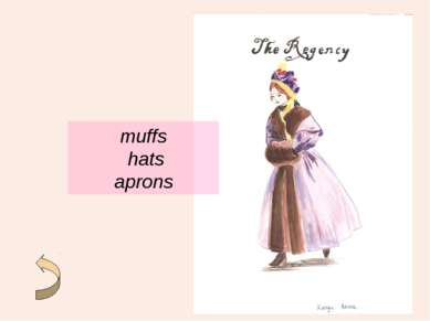 muffs hats aprons