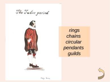 rings chains circular pendants guilds