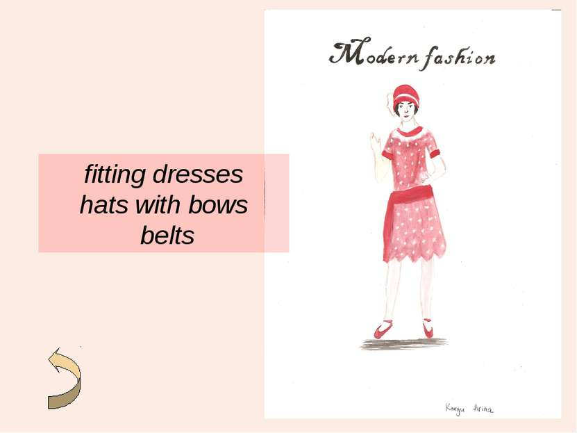 fitting dresses hats with bows belts