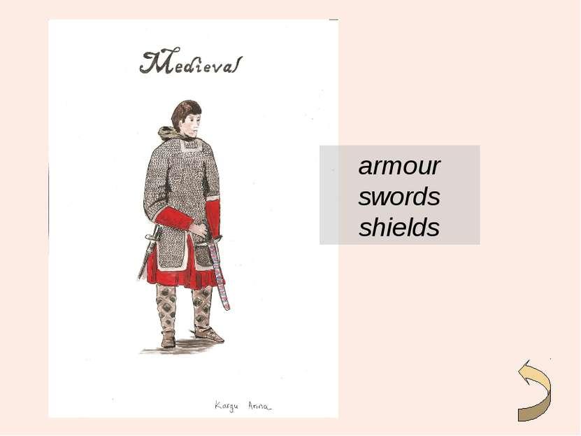 armour swords shields