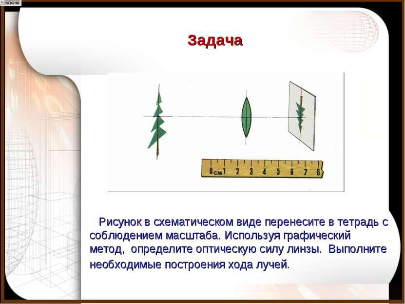 Рисунок в схематическом виде перенесите в тетрадь с соблюдением масштаба. Исп...
