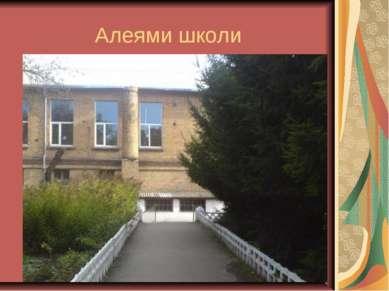 Алеями школи