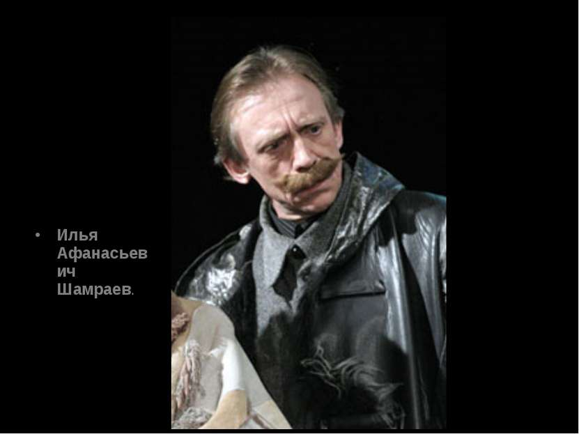 Илья Афанасьевич Шамраев.