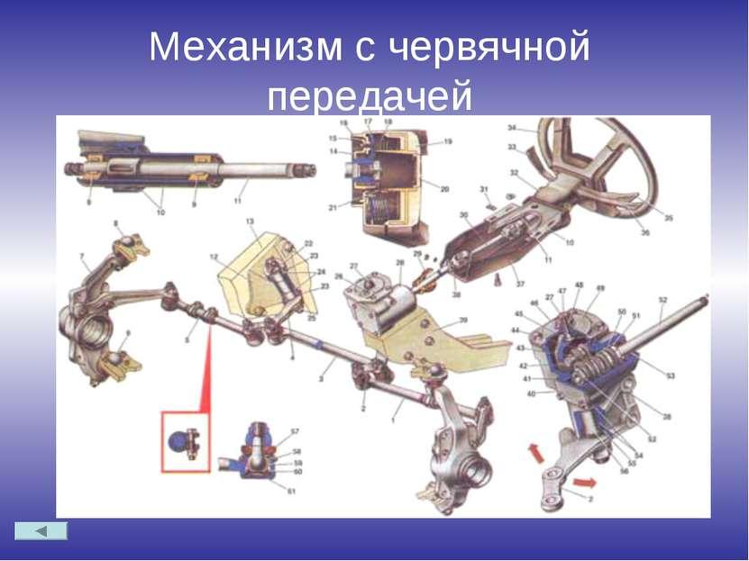 Механизм с червячной передачей