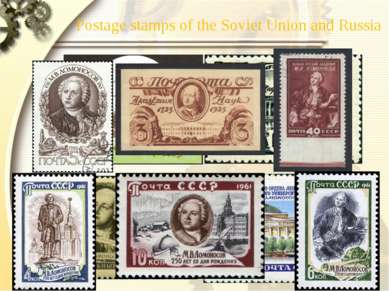 Postage stamps of the Soviet Union and Russia