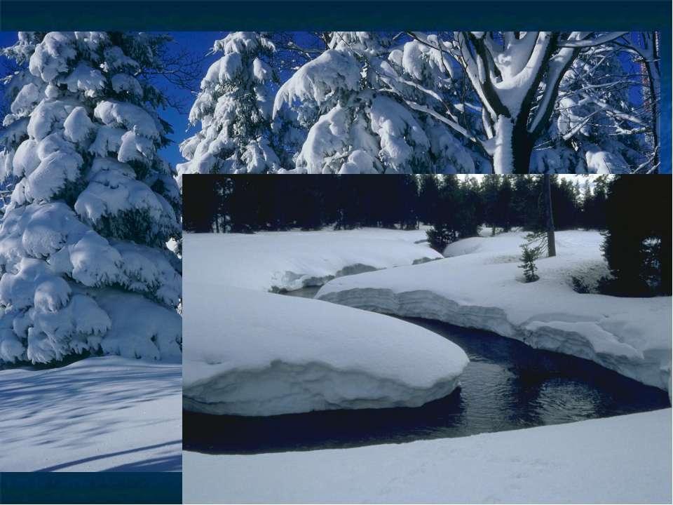 В районах с умеренным и холодным климатом осадки в виде снега выпадают в тече...