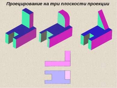 Проецирование на три плоскости проекции