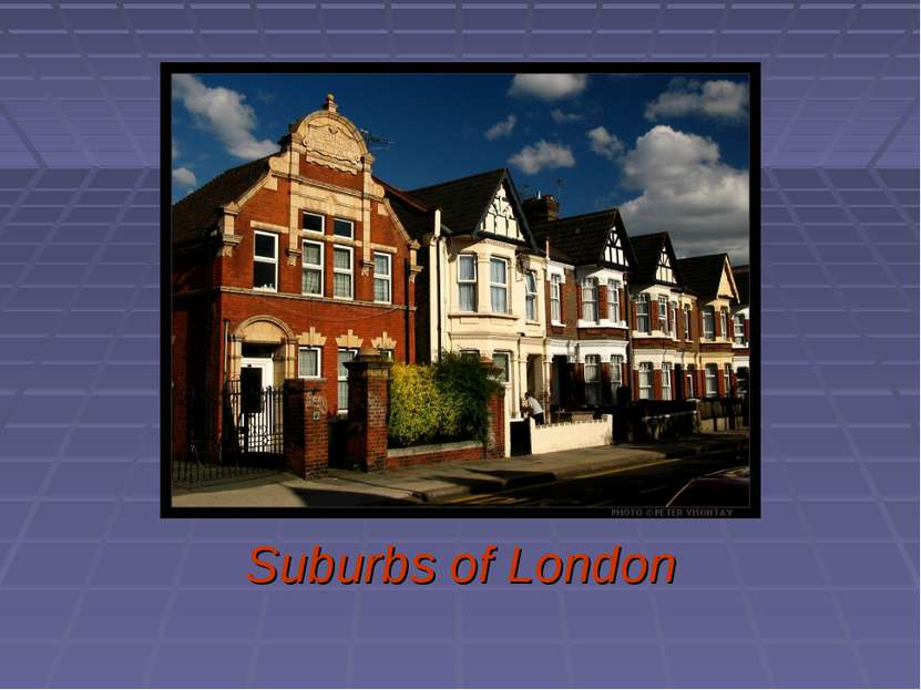 Suburbs of London