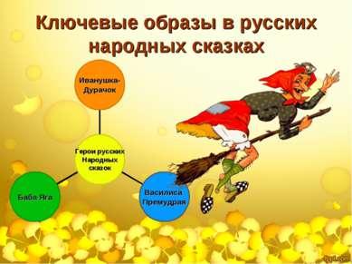 Ключевые образы в русских народных сказках