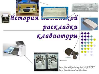 История латинской раскладки клавиатуры http://ru.wikipedia.org/wiki/QWERTY ht...