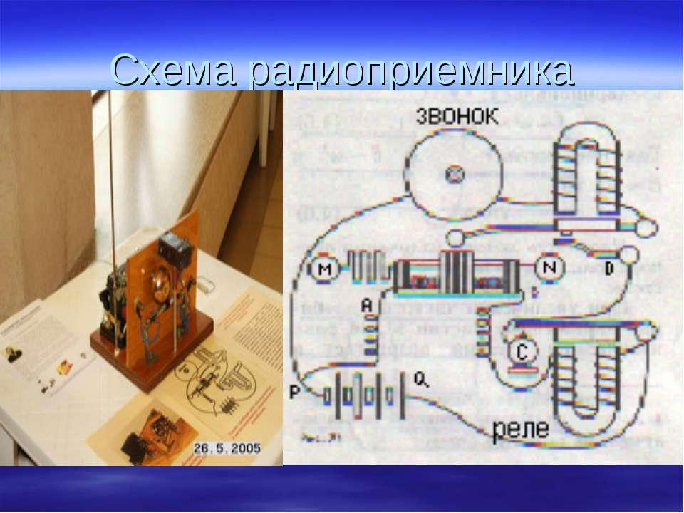 Схема радиоприемника