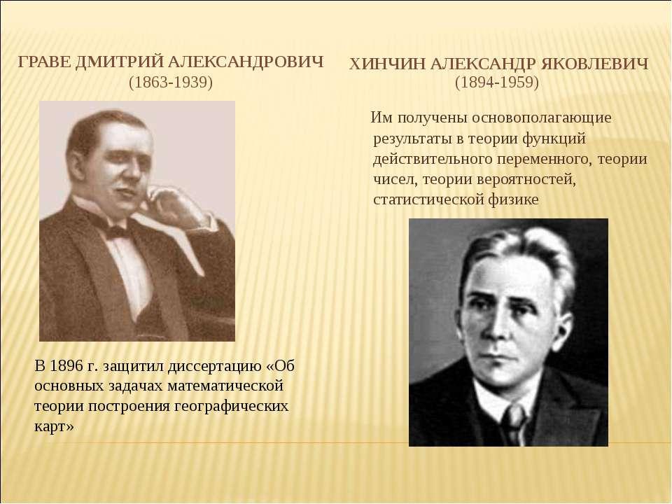 ГРАВЕ ДМИТРИЙ АЛЕКСАНДРОВИЧ ГРАВЕ ДМИТРИЙ АЛЕКСАНДРОВИЧ (1863-1939)