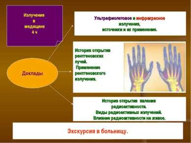 Излучения в медицине 4 ч Ультрафиолетовое и инфракрасное излучения, источники...
