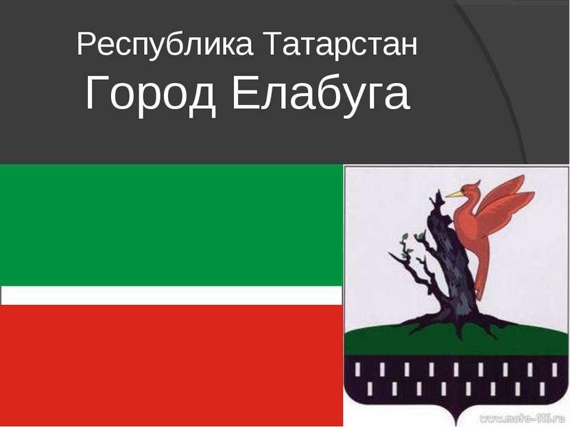 Республика Татарстан Город Елабуга