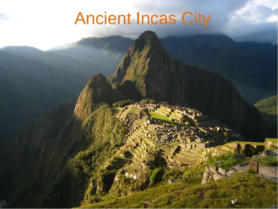 Ancient Incas City