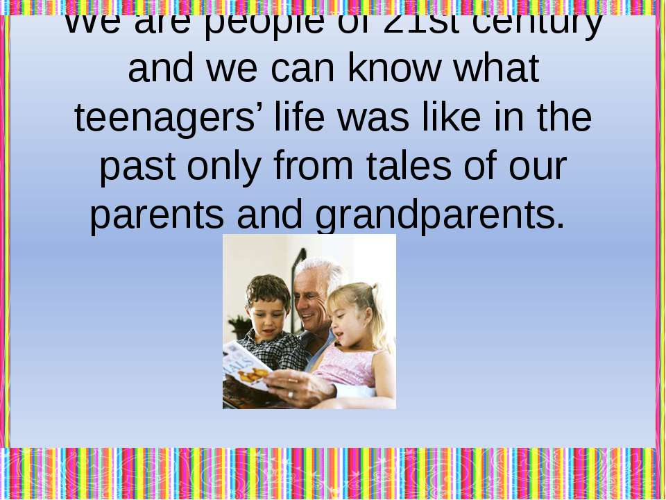 Of course, there are a lot of differences between 21st and past lives. But th...