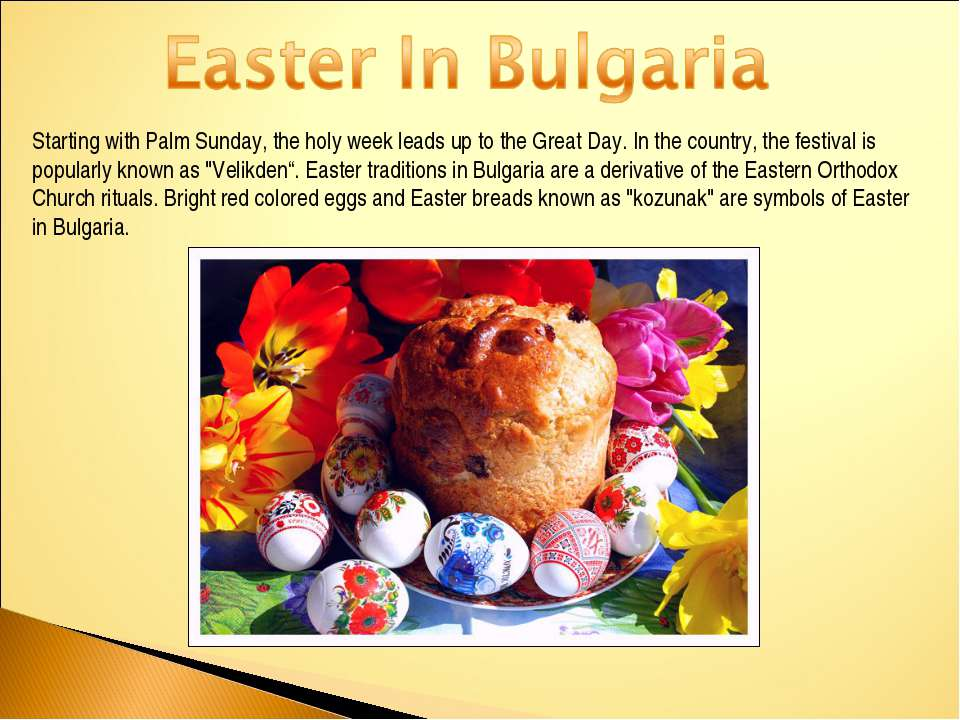 Starting with Palm Sunday, the holy week leads up to the Great Day. In the co...