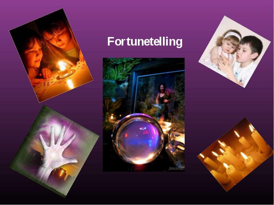 Fortunetelling