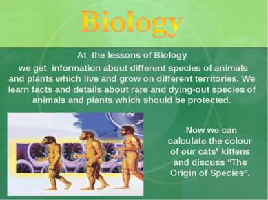 """Now we can calculate the colour of our cats' kittens and discuss """"The Origin ..."""