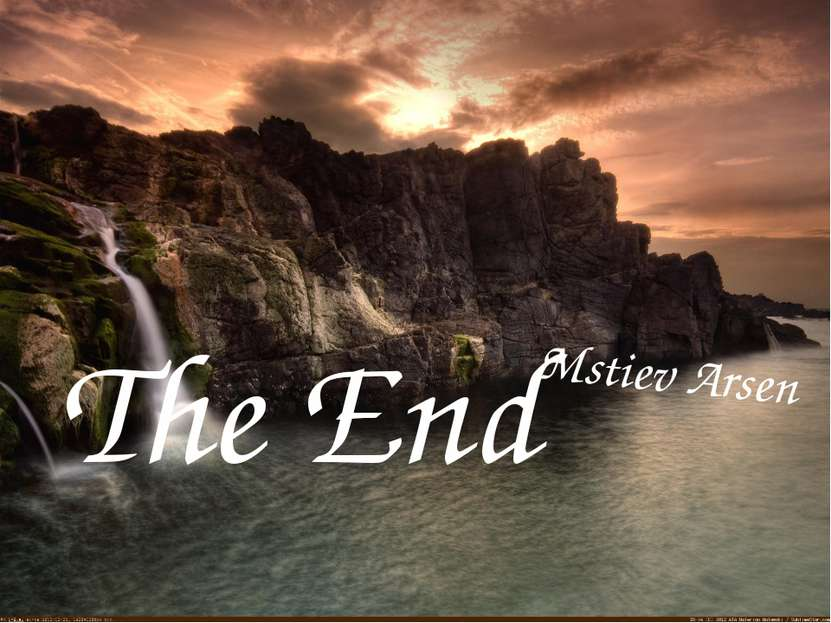 The End Mstiev Arsen